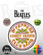 Pack of 5 Beatles Sgt Peppers vinyl peel off decals / stickers    (py)